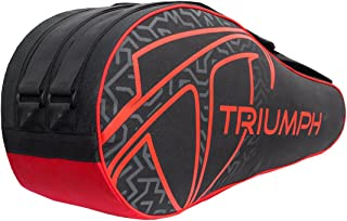 Triumph Pro-303 Badminton Kit Bag Black Red