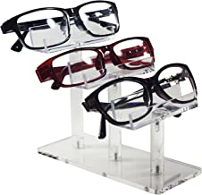 Mooca Acrylic 3 Tier Eyeglasses/Sunglasses/Pens Stand Holder