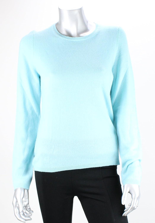 Charter Clubmmg Women's Petite Crewneck Cashmere Sweater