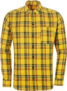 Best yellow button shirt men Reviews