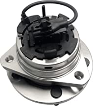 BOXI Front Left (Driver) or Right (Passenger) Wheel Hub and Bearing Assembly 5 Lugs w/ABS for 04-12 Chevy Malibu, 05-10 Pontiac G6, 07-09 Saturn Aura, 08-10 Chevy Cobalt HHR SS 513214