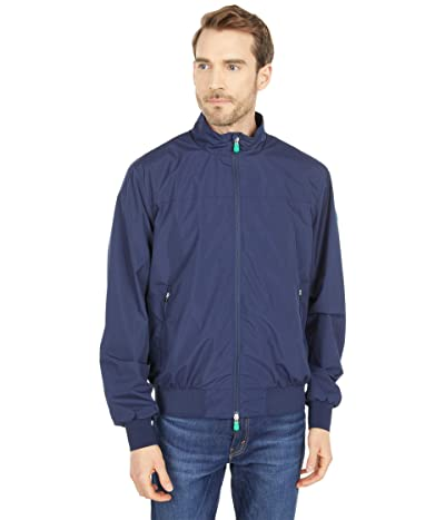 Save the Duck Joseph WIND Recycled Zip-Up Rain Jacket with Stretch (Navy Blue) Men