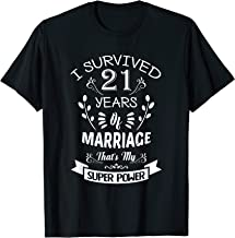 21 years of marriage