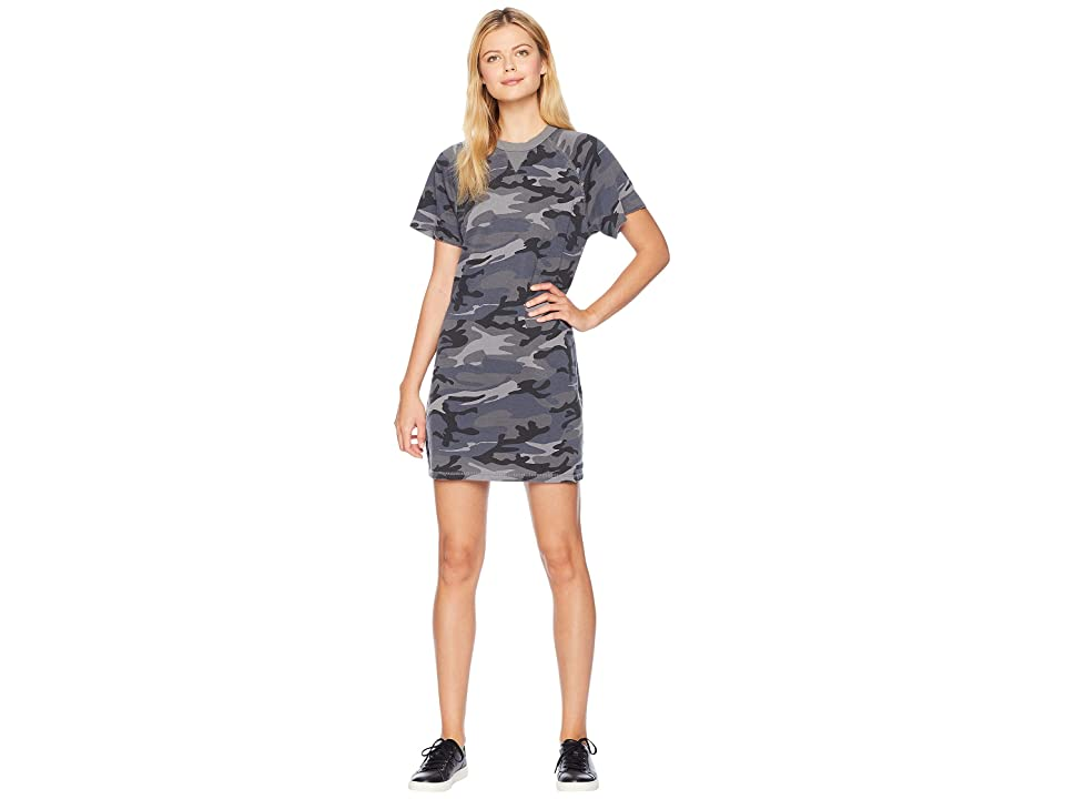 Alternative Gym Rat Sweatshirt Dress (Slate Camo) Women
