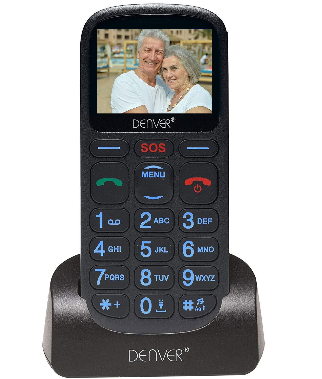 AmazonUkkitchen Denver - Teléfono móvil sin SIM, Color Negro: Amazon.es: Electrónica