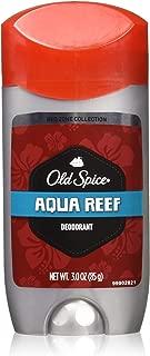 Old Spice Aqua Reef Deodorant, 3 Oz (Pack of 3)