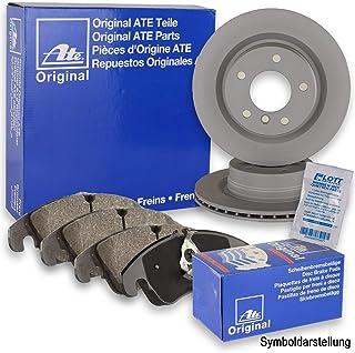 Original ATE Bremsscheiben vorne + ATE Bremsbeläge Bremsklötze Bremsenset Bremsenkit vorne Vorderachse
