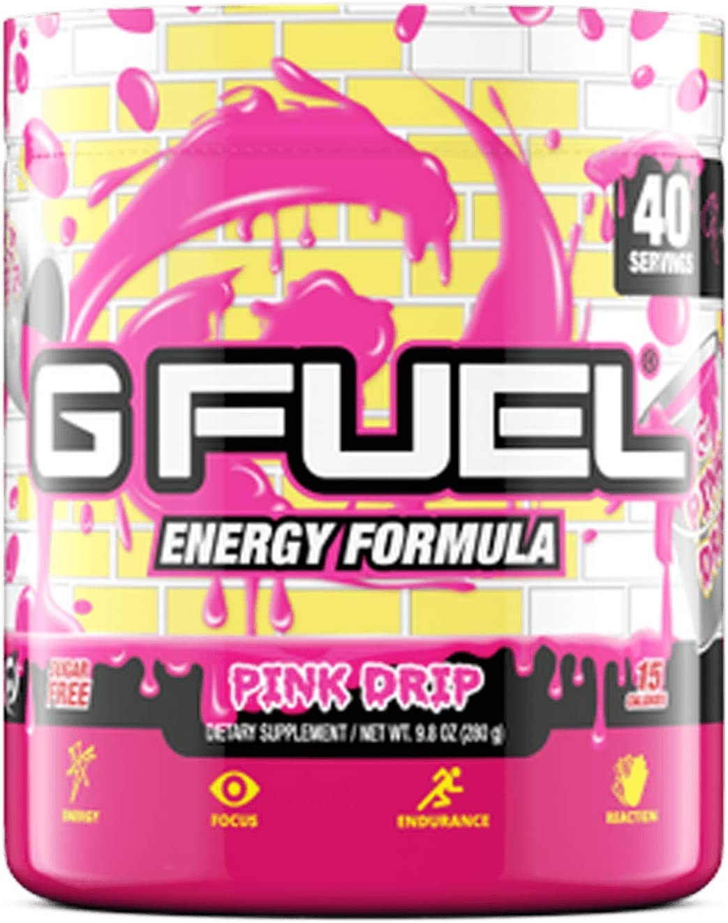 G Chicago Mall Fuel Pink Drip 40 Servings and Energy Powder Endurance Elite Popular brand in the world