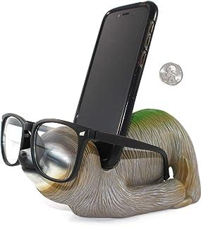 PeaceBruh Sloth Multi-Functional Desktop Organizer   Cell Phone Stand   Tablet Stand   Eyeglass Holder   Sunglass Holder  ...