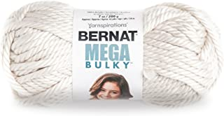 Bernat Mega Bulky Yarn 7 oz - JUMBO Gauge 100% Acrylic - Aran  -   For Crochet, Knitting & Crafting