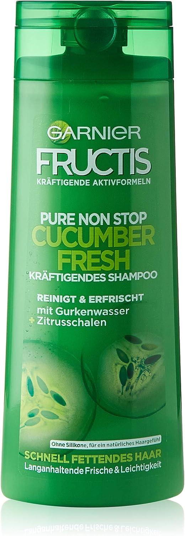 Champú Garnier Fructis de pepino, 6 unidades (6 x 250 ml).