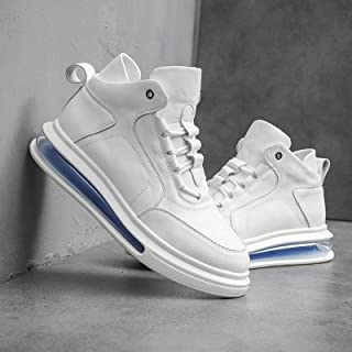 Corte medio Zapatos de los Hombres Zapatos de Cojín Casual Rainbow Soled Zapatos de los Hombres Otoño E Invierno Nueva Per...