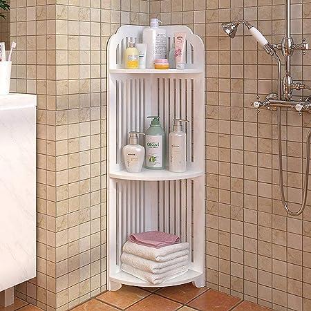 Furn Aspire Corner Shelf Corner for Bathroom Living Room, Corner Shower Waterproof Shelf Storage, Corner Shelving for Small Spaces