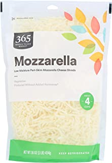 Best 365 by Whole Foods Market, Cheese Shreds, Mozzarella, 16 Ounce Review