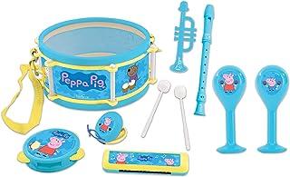Lexibook K360PP muziekset met 7 instrumenten in Peppa Pig design