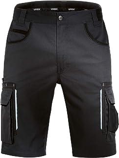 Uvex Tune-Up Pantalons Courtes de Travail pour Hommes - Shorts Cargo Bermuda - Multiples Poches,Noir,52