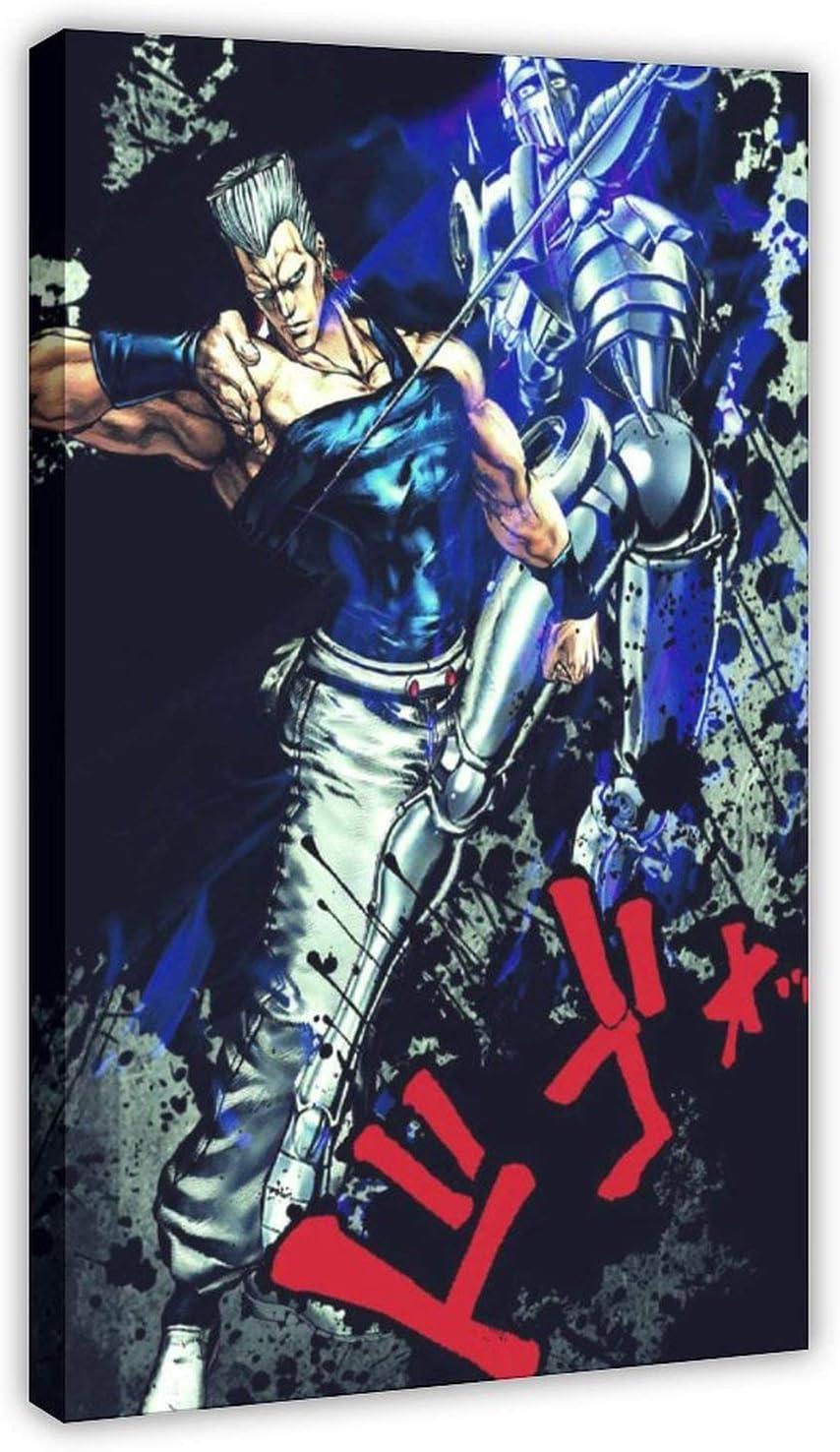 Mail order New Poster Anime Jojo S Adventure Cash special price Bizarre Jane Pier Polun