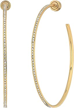 Michael Kors - Pave Hoop Earrings