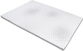 Milliard 2-Inch Gel Memory Foam Mattress Topper - Featuring a Removable and Washable Soft Bamboo Cover - King - 78