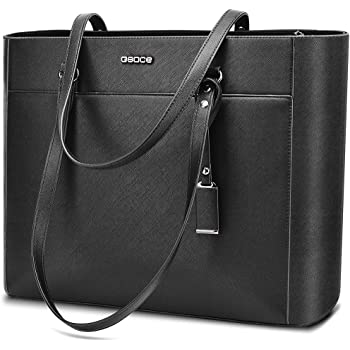 Handbags Up to 15.6 '' Laptop for Women,OSOCE Office Bags Briefcase,Laptop Tote Case for Women