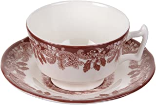 Spode Winters Scene Tea Cup and Saucer 0.20L