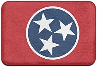 Tennessee State Flag Personalized Door Mats