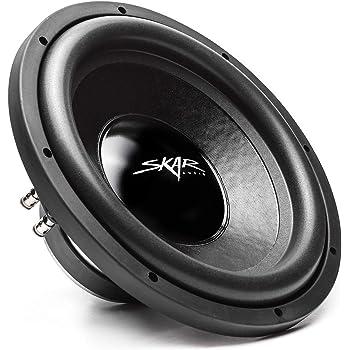 "Skar Audio IX-12 D2 12"" 500 Watt Max Power Dual 2 Ohm Car Subwoofer"