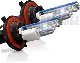 HID-Warehouse HID Xenon Replacement Bulbs - H13 / 9008 4300K - Bright Daylight (1 Pair) - 2 Year Warranty