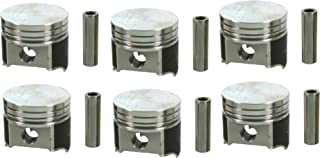 Chevy Corvair 164 Speed Pro TRW Forged Flat Top Coated Pistons 64-69 STD