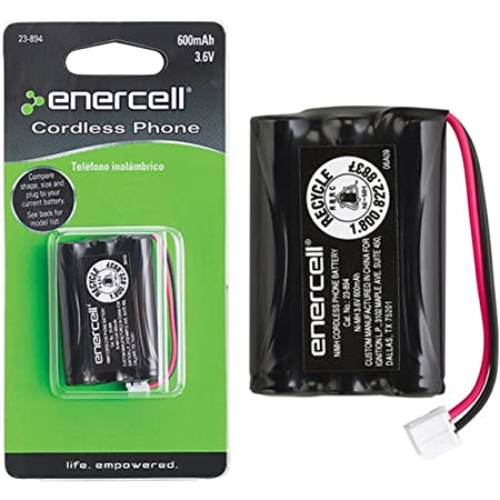 Enercell/® 2.4V//650mAh Ni-MH Phone Battery for Uniden/® 2300931 23-931