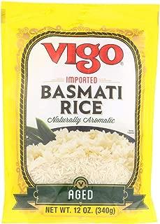Vigo Rice - Basmati - Case Of 6-12 Oz