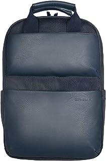 Comfort Travel laptop backpack Mochila tipo casual 37 centimeters Azul (Dark Blue)