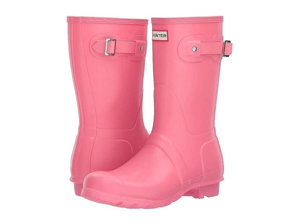 Hunter Original Short Rain Boots (Pink) Women