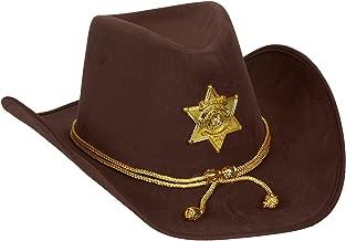 sheriff hat badge