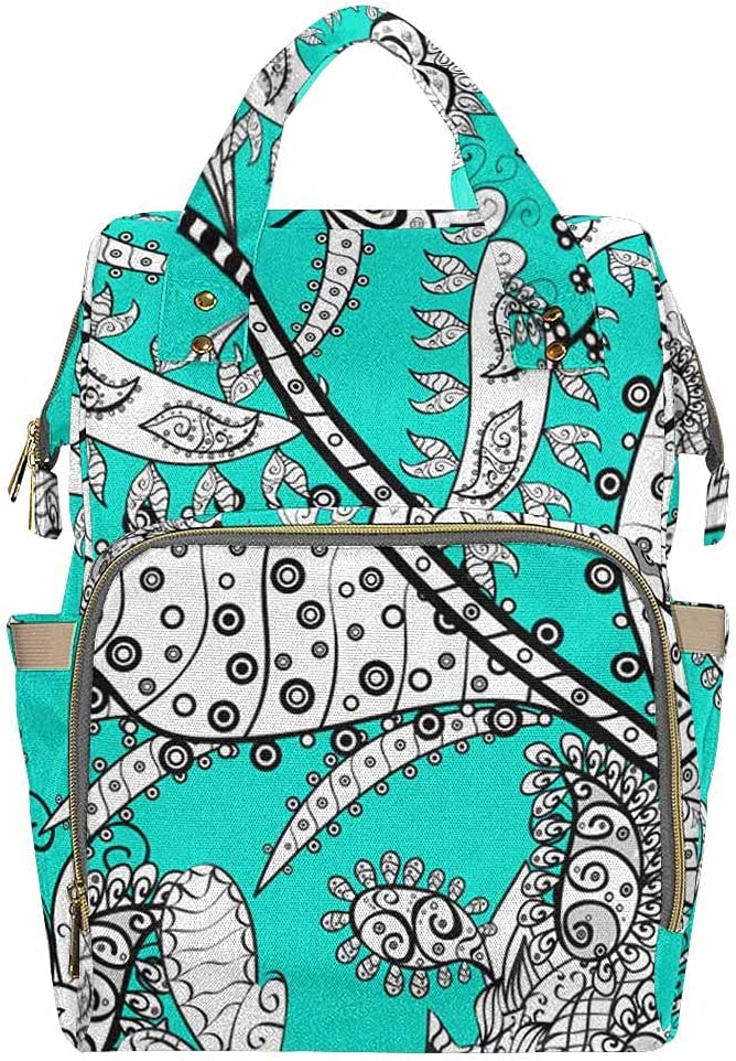 InterestPrint Fashion Waterproof Over item handling Outing for Unisex Max 63% OFF Bag Maternity