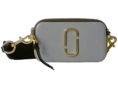 Marc Jacobs Snapshot (Rock Grey Multi) Handbags