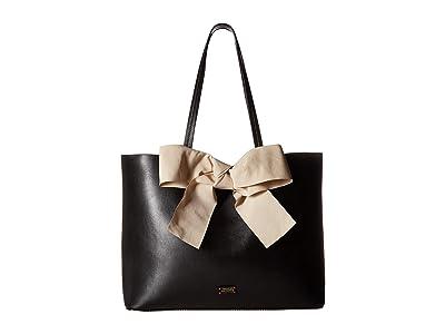 Frances Valentine Trixie Gradient Tote (Black/Oyster) Tote Handbags