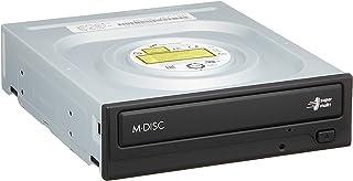 日立LGデータストレージ 24倍速対応スーパーマルチDVDドライブ ブラック ソフト付き GH24NSD5 BL BLH