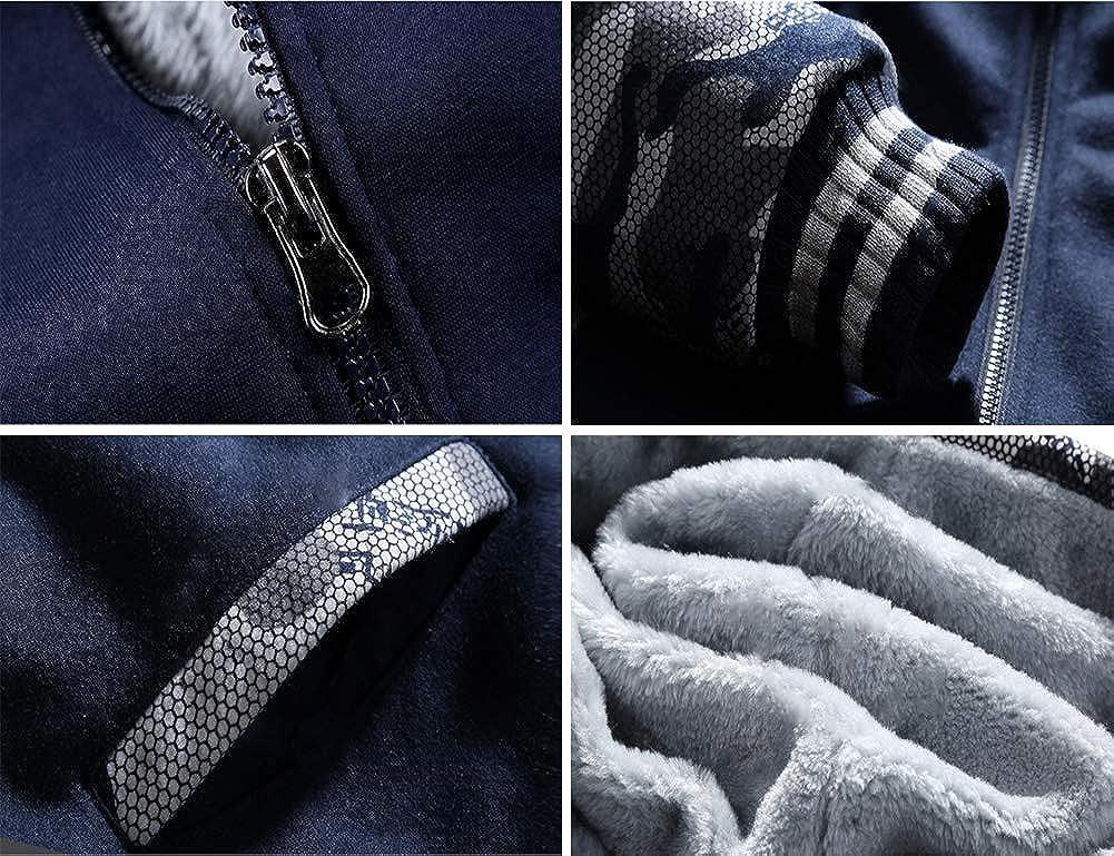Gumstyle Guilty Crown Anime Thicken Hoodie Sweatshirt Unisex Camo Outwear Zipper Jacket