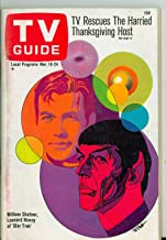 1967 TV Guide Nov 18 Star Trek - Philadelphia Edition Excellent (5 out of 10) Lightly Used by Mickeys Pubs