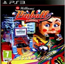 Williams Pinball Classics [Playstation 3, PS3] New