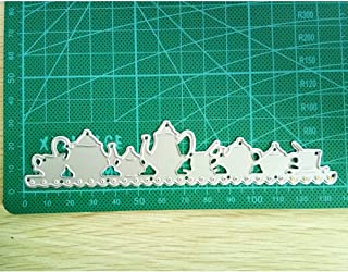 A Little Teapot Creative Metal Cutting Dies Stencils Scrapbooking Embossing DIY Crafts Template for Album Paper Card Decor Craft etc