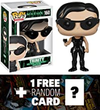 Funko Trinity POP! x The Matrix Vinyl Figure + 1 Free Classic Sci-fi & Horror Movies Trading Card Bundle [50900]