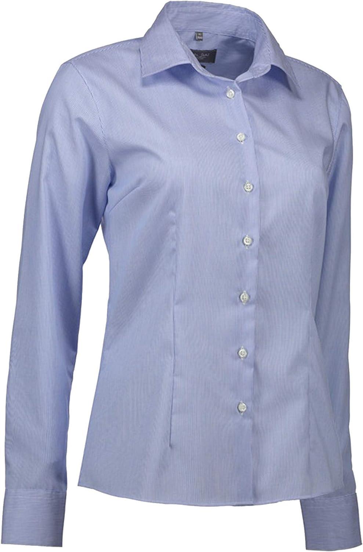 ID Womens Ladies Fine Twil Shirt California Modern Fit