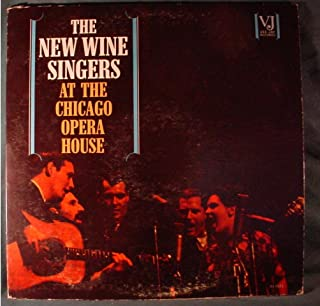 The New Wine Singers Very Nice Rare Vee-Jay Mono Lp - At The Chicago Opera House - 1963