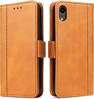iPhone XR Case, Bozon Wallet Case for Apple iPhone XR Flip Folio Leather Cover with Stand/Card Slots and Magnetic Closure...