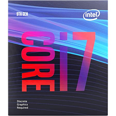 Intel Core i7-9700F Desktop Processor 8 Core 3 GHz speed (Up to 4.7 GHz) Without Processor Graphics LGA1151 300 Series 65W (BX80684I79700F)