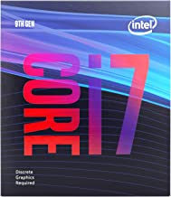 Intel Core i7-9700F Desktop Processor 8 Core 3 GHz speed (Up to 4.7 GHz) Without Processor Graphics LGA1151 300 Series 65W...