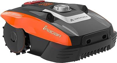 YARD FORCE COMPACT 400Ri Robot cortacésped, 20 V, Negro/Naranja, 400 m² - smarte App Steuerung
