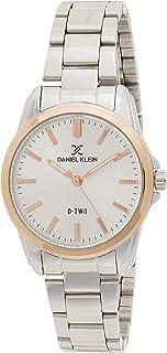 Daniel Klein D-Two Ladies - Silver Dial Silver Band Watch - DK.1.12621-6
